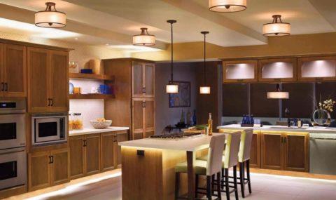 Светодиодной лентой можно подсвечивать не только потолок