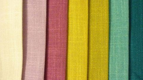 Текстильные полотна могут иметь выразительную тканевую фактуру