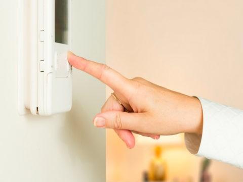Терморегулятор для ИК-обогревателей позволяет задавать необходимую температуру в помещении
