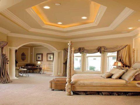 Трехуровневый потолок из гипсокартона