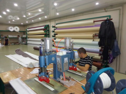 Цех по производству натяжных покрытий