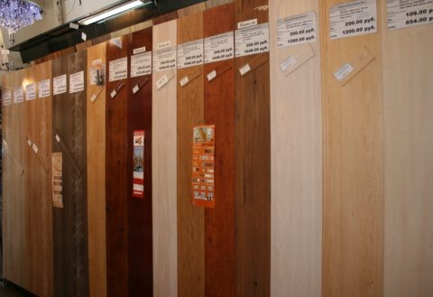 Цены на виниловые панели