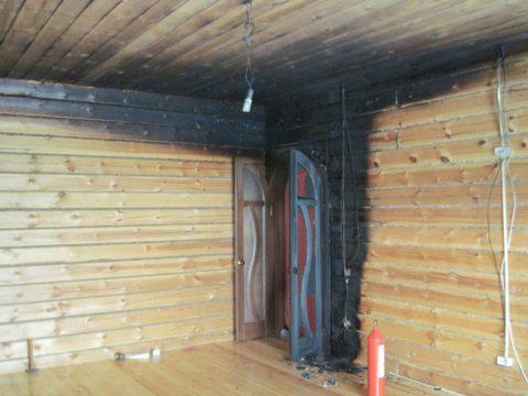 В деревянных постройках инструкция по пожарной безопасности должна строго соблюдаться