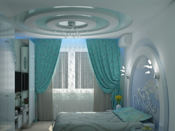 В интерьере спальни - полная гармония
