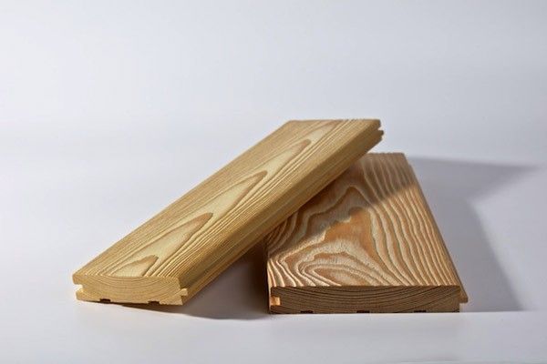Вагонка потолочная, брашированная