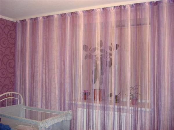 Верёвочные шторы