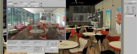 Визуализация сцены в 3D программе