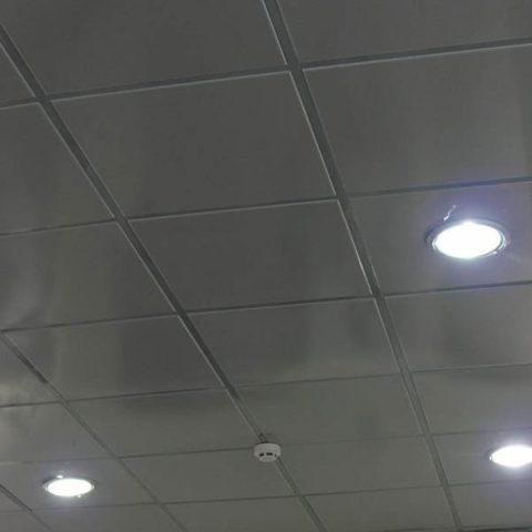 Включаем освещение для проверки