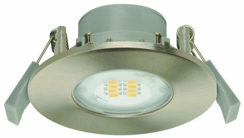 Врезной светильник утапливается в подвесной потолок
