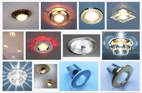 Картинки по запросу Типы светильников и их использование