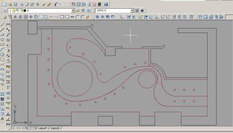 Выполнение чертежа в компьютерной программе