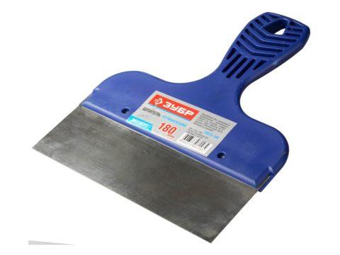 Жесткий шпатель для зачистки поверхностей