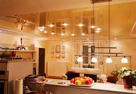 Знакомьтесь: точечные светильники в интерьере